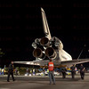 OV-105 Endeavour on Manchester Blvd at Randy Donuts in Inglewood, CA. Oct. 13, 2012