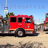 OV-105 Endeavour at Forum stop in Inglewood, CA. Oct. 13, 2012. Panorama