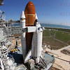 STS-134 Endeavour on Pad 39A 03-11-2011