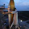 STS-135 Atlantis rollout pad 39A for the last time June 1, 2011