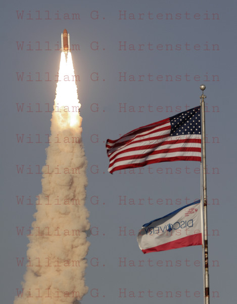 STS-133 Discovery launches on its last Mission 02-24-2011 at 4:53pm EST.