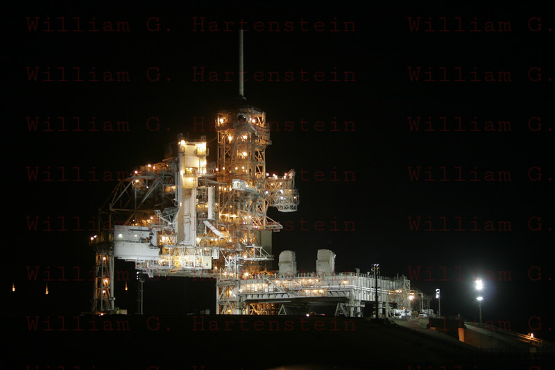 STS-133 Discovery launches on its last Mission 02-24-2011 Empty Pad 39A