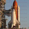 STS-134 Endeavour arrives at Pad 39A for last time 03-11-2011