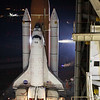STS-134 Endeavour rolls out to launch pad 39A 03-10-11