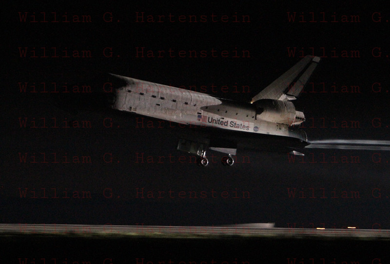 STS-134 Endeavour lands for the last time at KSC runway 15 June 1st, 2011 at 2:35am EDT