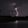 STS-134 Lightning hits behind Pad 39B April 28, 2011