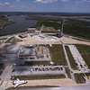 STS-135 Atlantis during rolls out from OPF to VAB for the last time May 17, 2011