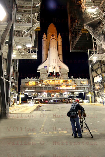 STS-135 Atlantis prior to Rollout to Pad 39A for the last time May 31, 2011