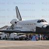 STS-135 Atlantis on Runway 15 after final Shuttle landing. KSC 15 July 21, 2011 @ 5:57am edt.