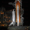 STS-135 Atlantis the evening before launch July 7, 2011