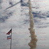 STS-135 Atlantis launches on last Shuttle Mission July 8, 2011 @ 11:29am EDT. After punching thru the clouds at T+42 seconds the SRB plume casts a shadow on the top of the clouds.