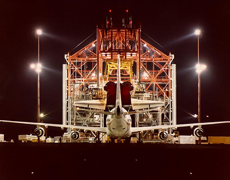 ALT-15 Enterprise Free Flight #4 Oct. 12, 1977 Edwards AFB. CA.
