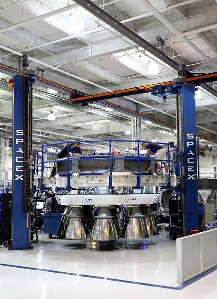 SpaceX Octaweb Feb. 27, 2014