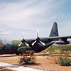 "Date: unknown<br /> Location: Tucson, AZ<br /> C-130A, SerNo 56-0493. ""City of Tucson"""