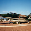 "Date: unknown<br /> Location: Tucson, AZ<br /> F-105D, SerNo 61-0159. ""The Liger"""