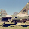 Date: unknown - Location: N Little Rock<br /> Manufacturer:  Republic Aviation<br /> Model:  F-105F-1-RE - Name:  Thunderchief<br /> Mil Reg:  63-8261 - Civ Reg:  n/a - C/N:  F038<br /> Markings:  HI/AF63261<br /> Misc:  <br /> * According to NMUSAF records, this plane now resides in the Jacksonville Museum of Mil History, Arkansas.