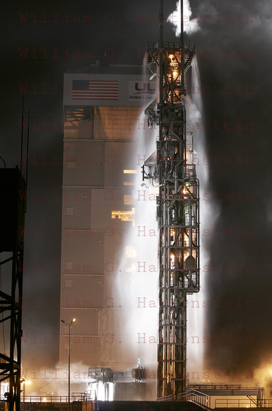 SLC-3E is empty and ready for the next launch in March of 2011.