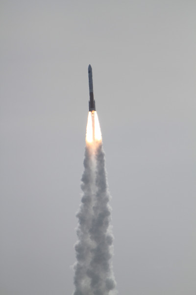 ULA Delta 4/NROL-25 Lifts off from Space Launch Complex 6 at Vandenberg AFB. April 3, 2012 at 4:12:57pm PDT. Photo of SLC-6 during remote camera setup.