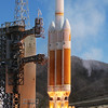 ULA Delta IV Heavy launches at 11:03am PDT from SLC-6 Vandenberg AFB. Calif. Aug. 28, 2013