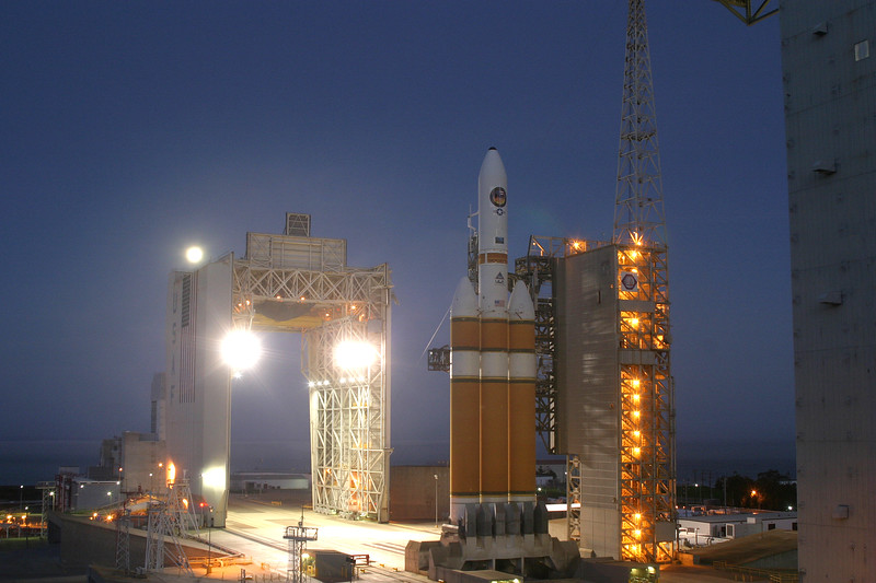 Morning before launch at 6:43am.