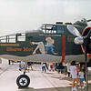 """Date:  unknown - Location:  unknown<br /> Dep/Arv/Enr:  n/a - RW/Taxi/Ramp:  n/a<br /> Manufacturer:  North American Aviation <br /> Model:  B25J - Ser/BuNo:  44-31385 <br /> Markings:  """"Show Me!""""<br /> Misc:"""