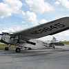 """Date: 2/11/18 - Location: KLAL<br /> Dep/Arv/Enr: n/a - RW/Taxi/Ramp: n/a<br /> Manufacturer: Ford<br /> Model: 5-AT-B - Name:  Trimotor <br /> C/N:  8 - Reg/Nmb: NC9645<br /> Nose art:  """"City of Port Clinton/City of Wichita""""<br /> Misc:"""