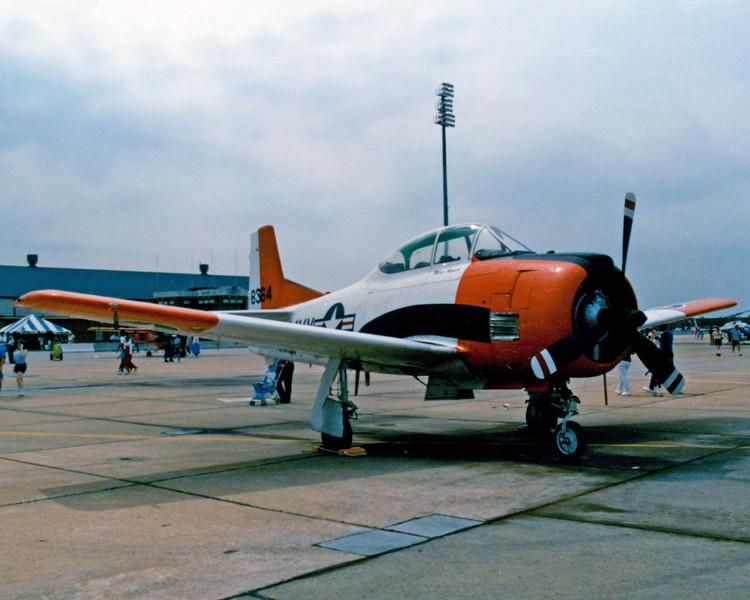 Date:  unknown - Location:  KLIF<br /> Dep/Arv/Enr:  n/a - RW/Taxi/Ramp:  n/a<br /> Manufacturer:  North American Aviation <br /> Model:  T28B/AT28D - Ser/BuNo:  138364<br /> Markings:  NAVY/8364<br /> Misc:  n/a
