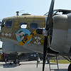 """Date: 2/14/17 - Location: KVDF<br /> Dep/Arv/Enr: n/a - RW/Taxi/Ramp: n/a<br /> Manufacturer: Douglas Aircraft<br /> Model: B-17G <br /> Ser/BuNo: 44-83575 - Reg/Nmb:  NL93012<br /> Markings: """"Nine O Nine""""/OR R/A/231909/R<br /> Misc:"""