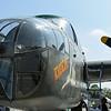 "Date:  2/14/17 - Location:  KVDF<br /> Manufacturer:  North American Aviation<br /> Model:  B-25J - Reg/Nmb:  N3476G<br /> Markings:  ""Tondelayo""/130669<br /> Misc:  44-28932"