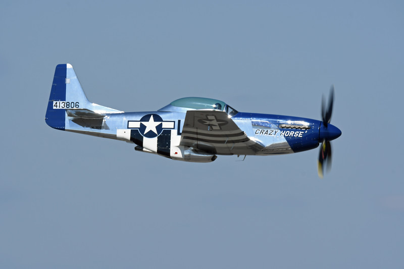 """Date: 11/4/17 - Location: KNIP<br /> Dep/Arv/Enr: Enr - RW/Taxi/Ramp: n/a<br /> Manufacturer: North American Aviation<br /> Model: TF-51D - Nose Art:  """"Crazy Horse 2:<br /> Mil Reg:  44-74502 - Reg/Nmb: N351DT - C/N:  122-41042<br /> Markings:  """"Crazy Horse 2""""/DS/413806<br /> Misc:"""
