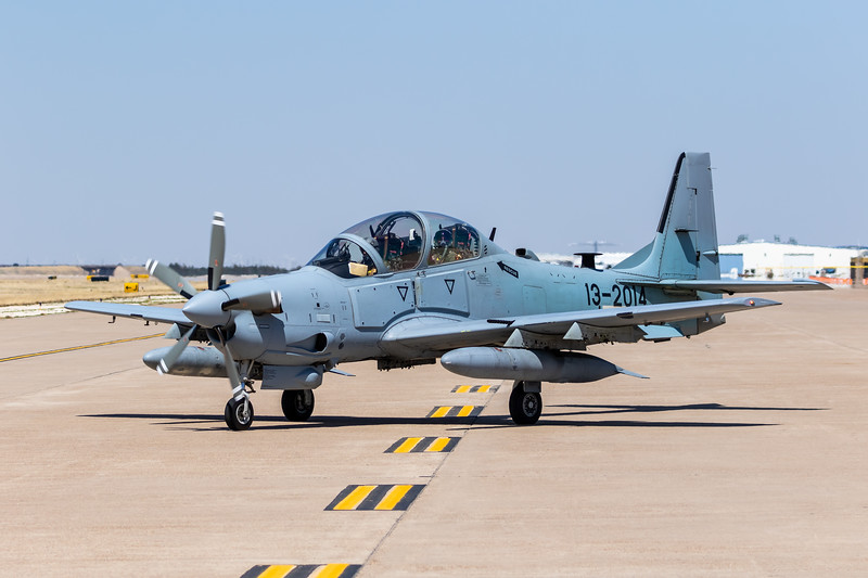 "-(Aircraft) Embraer A-29 Super Tucano <br /> -(Nation & Service) Afghan Air Force <br /> -(Squadron) 81st Fighter Squadron ""Panthers""<br /> -(Home Base) Moody Air Force Base, Georgia"