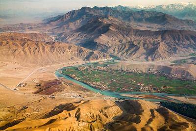 Kabul River and Dam