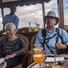 Snacks and drinks on the Zambezi