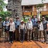 Group at the Pangolin Photo Safari boat ride