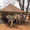 The &Beyond staff at Chobe Under Canvas