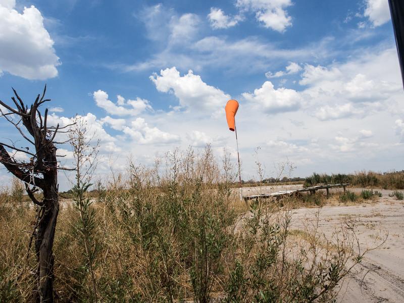 Nxabega landing strip