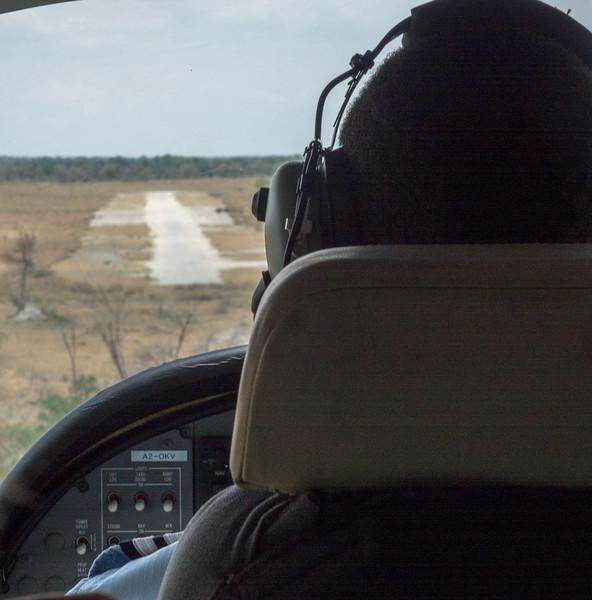 The Nxabega Landing Strip
