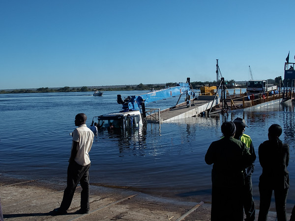 Ferry Crossing to Zambia