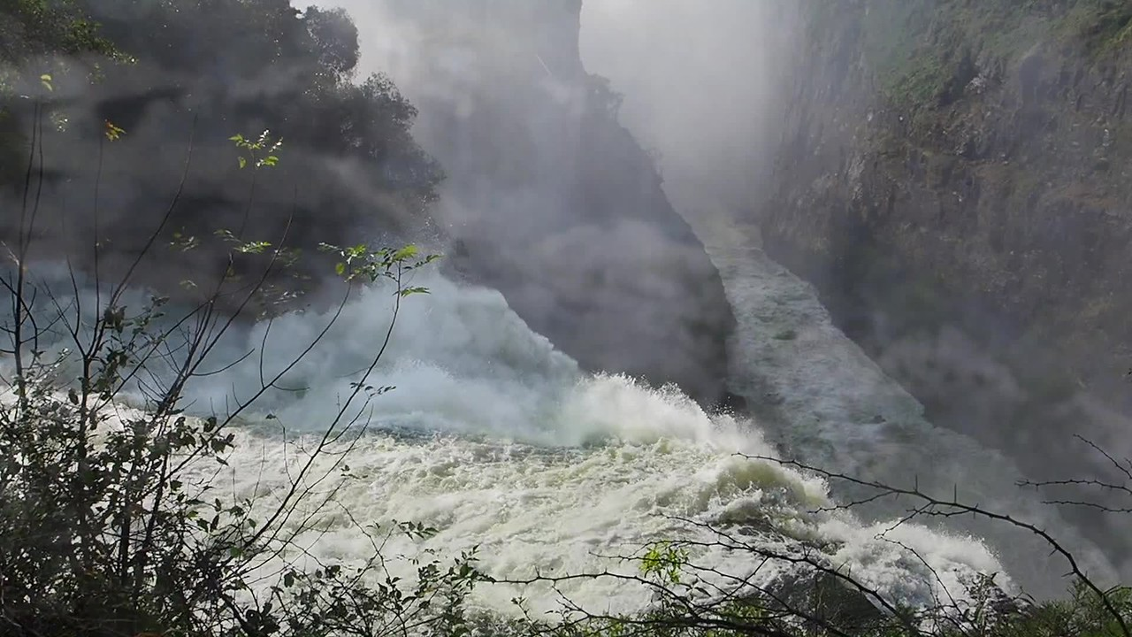 Victoria Falls - Click on the camera icon in the lower left of the picture for a video of the falls.