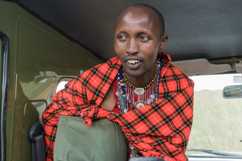 Our Maasai Guide George