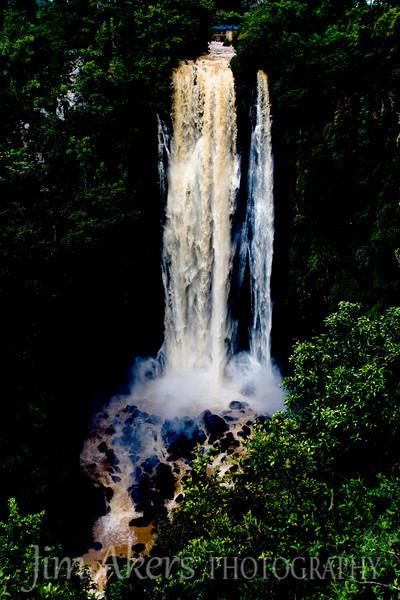 Thompson Falls enroute to Lake Nakuru National Park