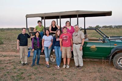 The Samaritan's Feet Misson Trip group.