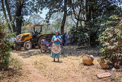 Local woman in Tanzania