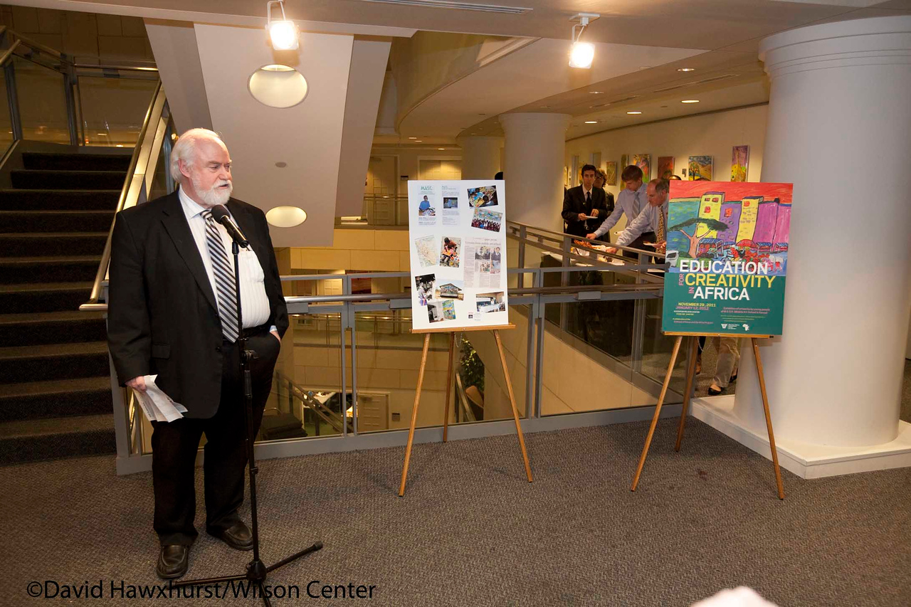 Art opening reception: Education for Creativity in Africa
