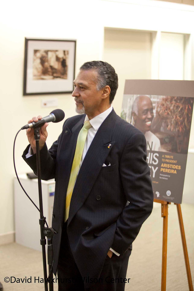 Art opening reception: A Tribute to President Aristides Pereira