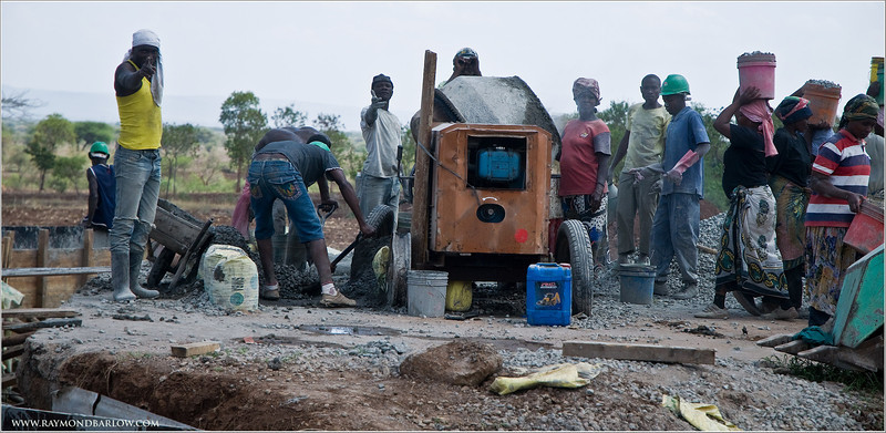 Tanzania Construction Crew  (pls view large size!)