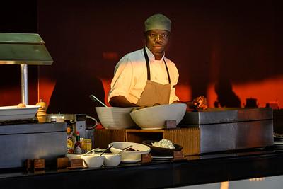 Breakfast at the Victoria Falls Hotel