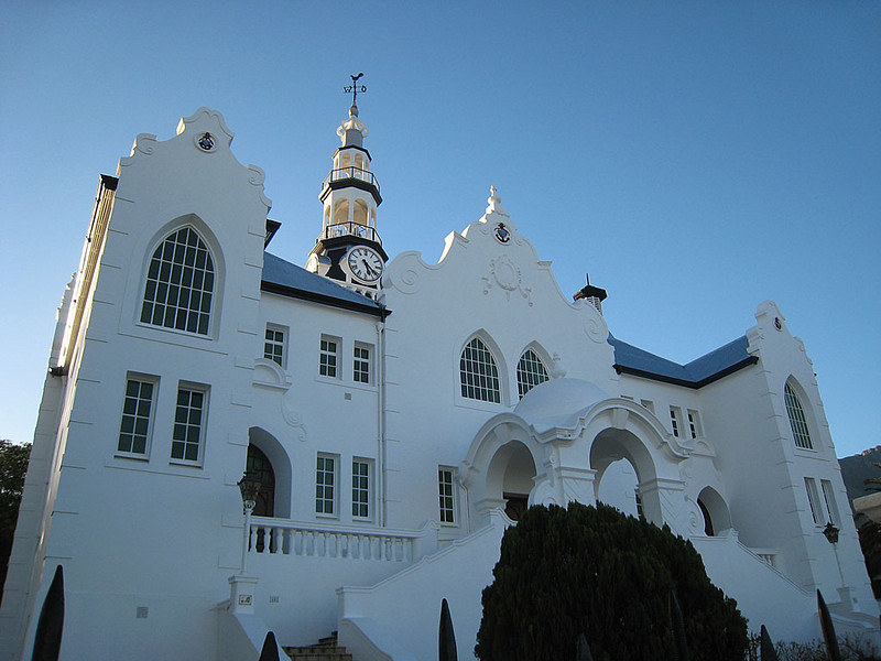 Dutch Reformed Church, Swellendam, Southern Cape<br /> Aug. 13, 2009<br /> ©Peter Candido All Rights Reserved