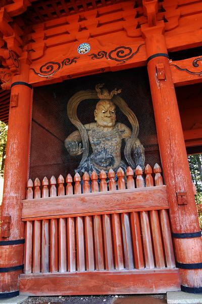 Koyasan - Daimon Gate - Guardian
