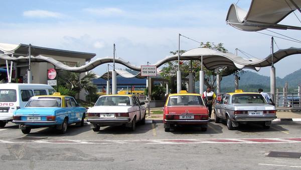 Taxis in Lumut - Malaysia